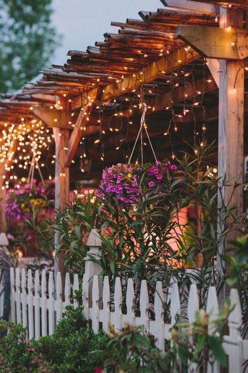 Pergola Lights Eight Easy Pergola Lighting Ideas
