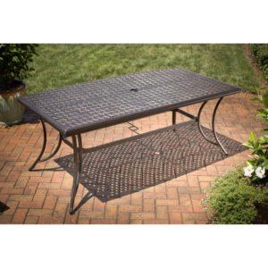 agio 7 piece patio dining set