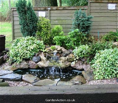 14 Awesome Small Pond Waterfall Ideas!   OutsideModern on Small Pond Waterfall Ideas id=91628