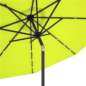 best patio umbrella with lights