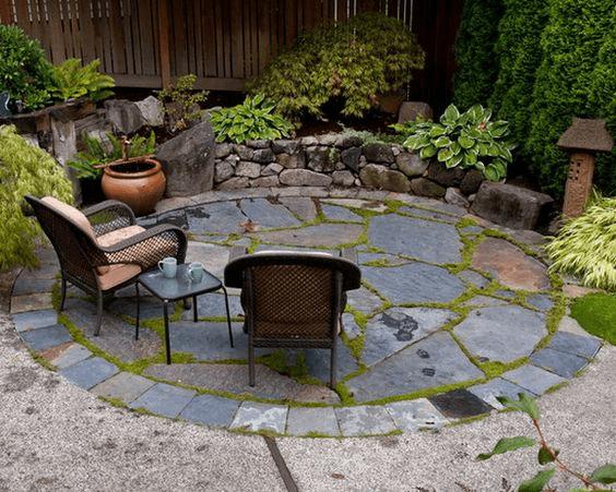 slate patio ideas amp up your patio