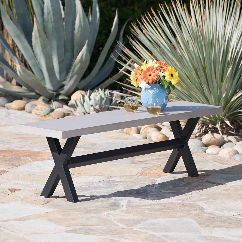 concrete patio furniture inspiration