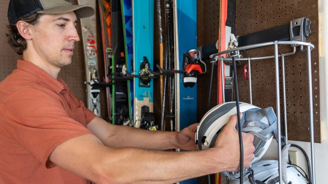 A Creative Hack for Storing Your Ski and Snowboard Gear