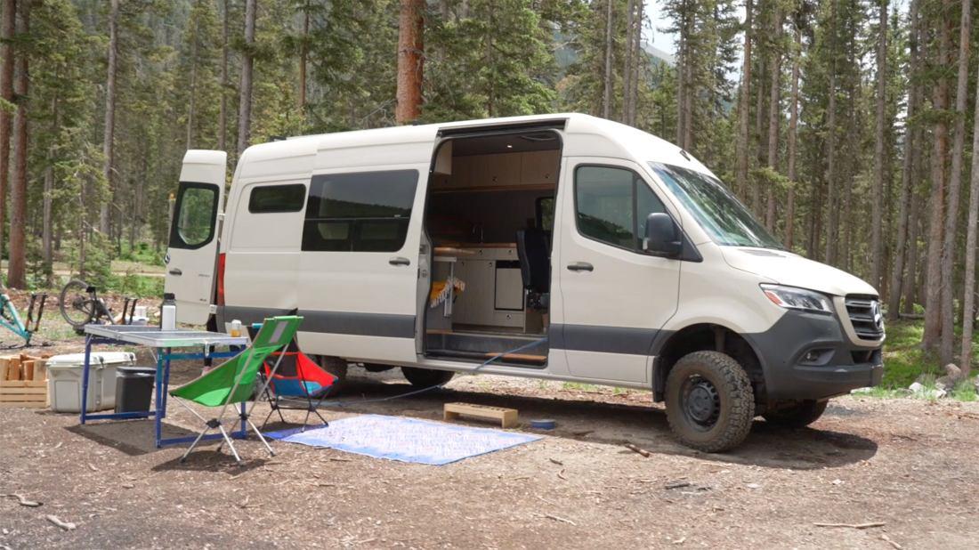 An Inside Look at an Outside Staffer's Sprinter Van