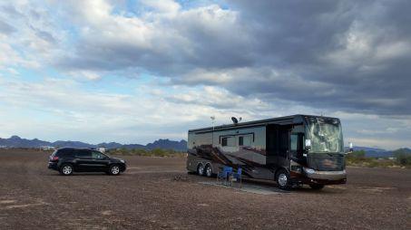 Our Spot On BLM Land Near Quartzsite, AZ