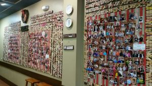 Memory Wall In The Whole Scoop Ice Cream Shop