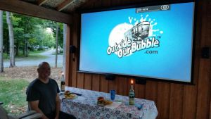 Sept 2015 - Enjoying The Outdoor Theater