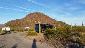 Our Site At Picacho Peak State Park In Arizona