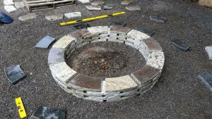 Building Of The Fire Pit