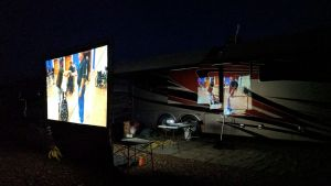 Movie Night In Quartzsite, AZ