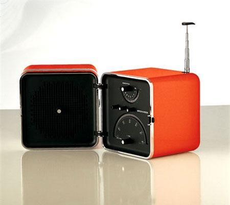 Radio Cubo Brionvega ts 522