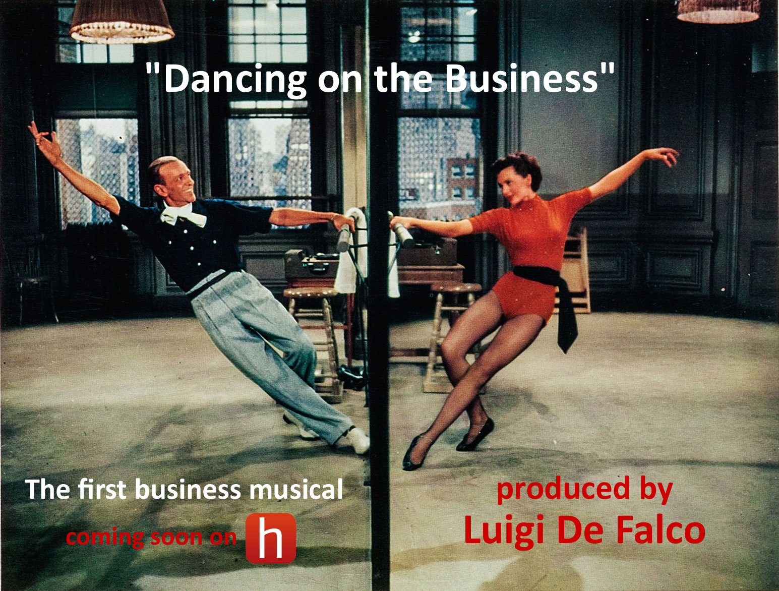 dancing on the business musical