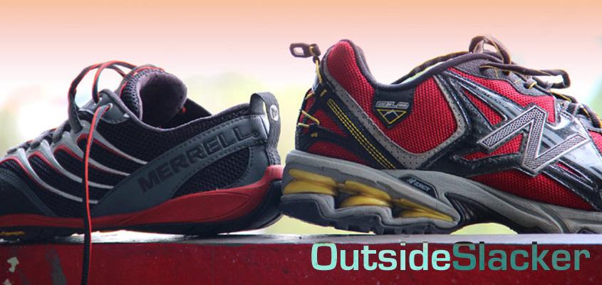 Minimalist shoes for manimalist running