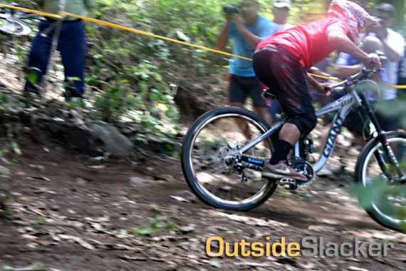 Another downhill drop
