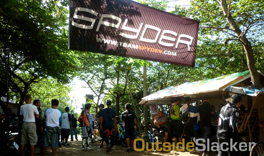 Racers sign up for the Spyder Downhill Cup 2013