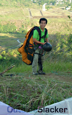 Paraglider in Binangonan 4