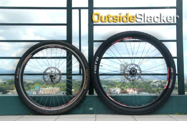 26 inch wheel versus 29er