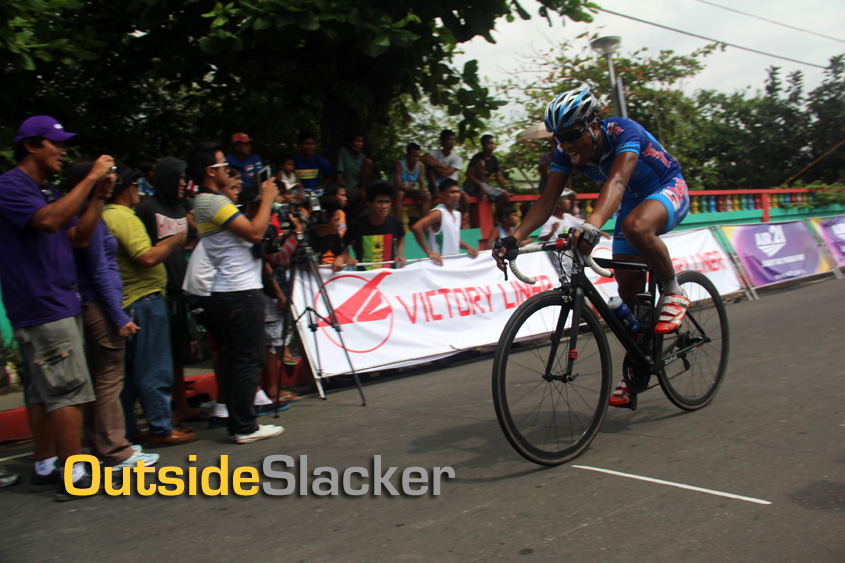 Sprint Finish at Le Tour de Filipinas 2013