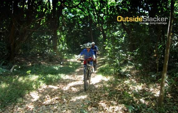Bikers in Corregidor