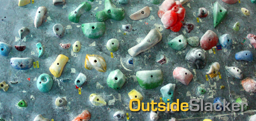 Climbing holds in Centro Atletico