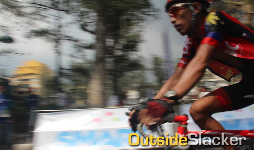 Biker in Le Tour de Flipinas 2013 Stage 4