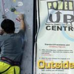 Wall Climbing in Power Up Centro Atletico, Cubao