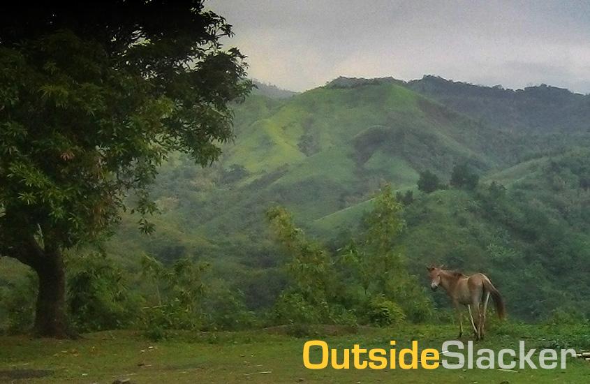 Rural scene in Daraitan, Tanay Rizal