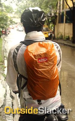 Rainproof bike bag