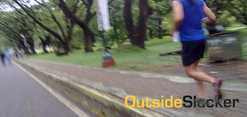 Runner in UP Diliman