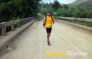 Trail Runner in Daraitan, Tanay, Rizal in Nature's Trail Discovery Run 2013 (Leg 1)