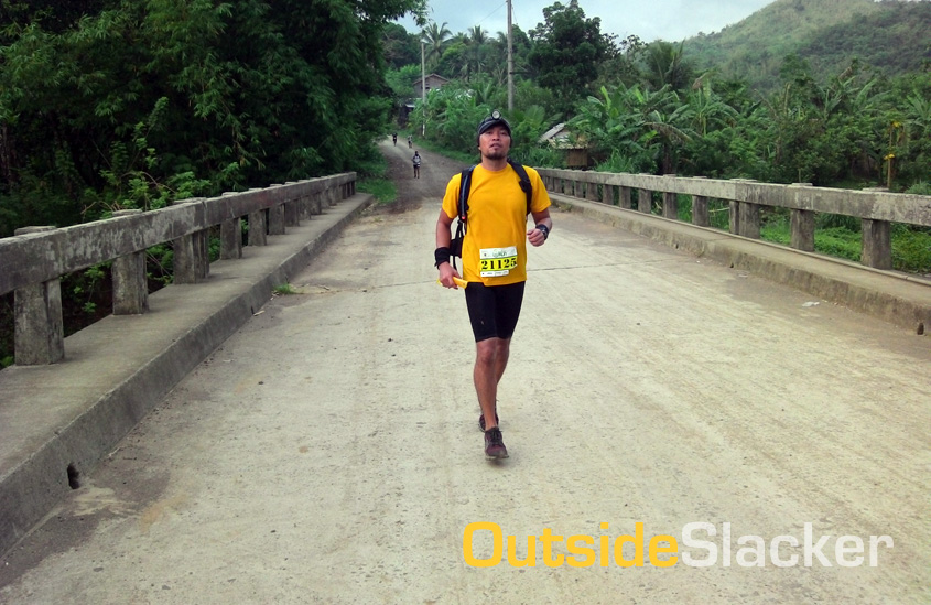 Trail Runner in Daraitan, Tanay,  Rizal in Nature's Trail Discovery Run 2013 (Leg 1)