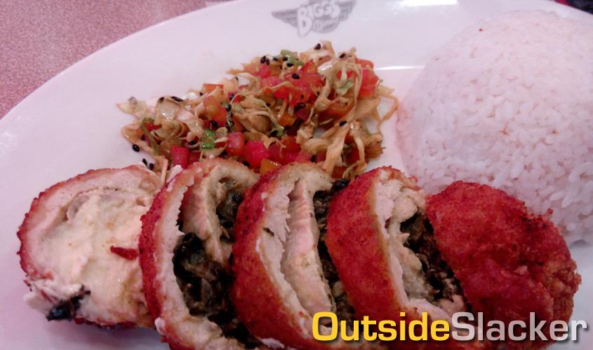 Biggs Laing-stuffed Chicken