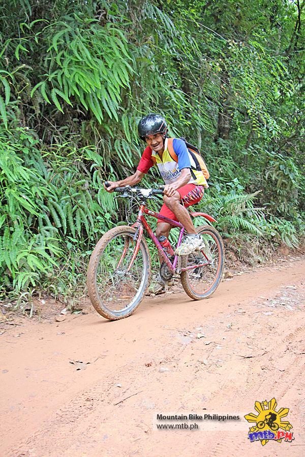 Super Lolo in All Terra King of the Mountain 2013 bike race