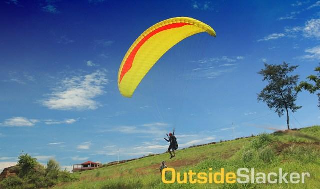 Paragliding Jump