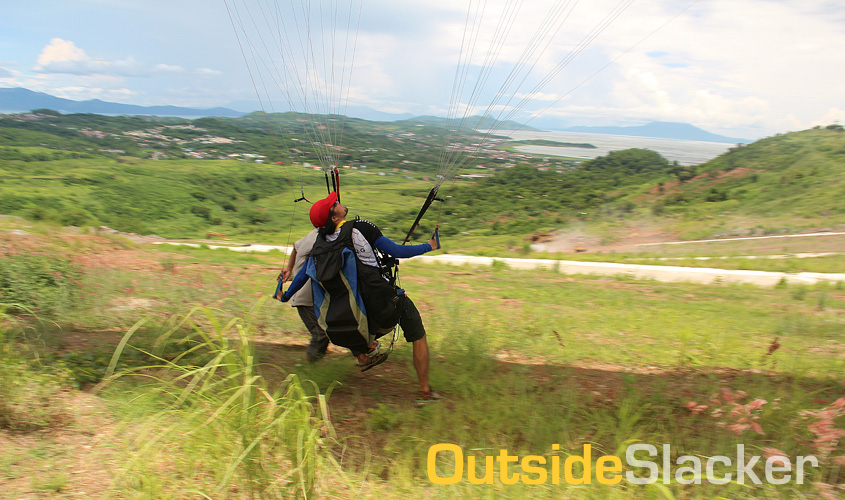 Paragliding Practice
