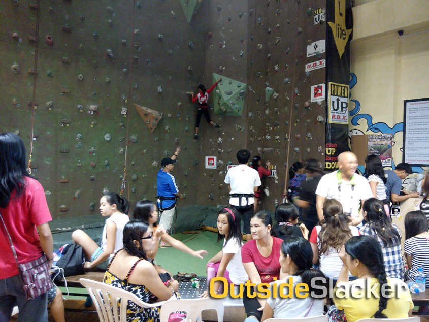 Power Up ROX climbers