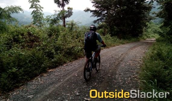 Biking to Puray Falls