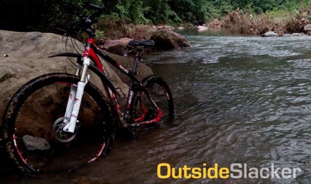 Biking to Puray Falls, Mountain Biking in the Philippines
