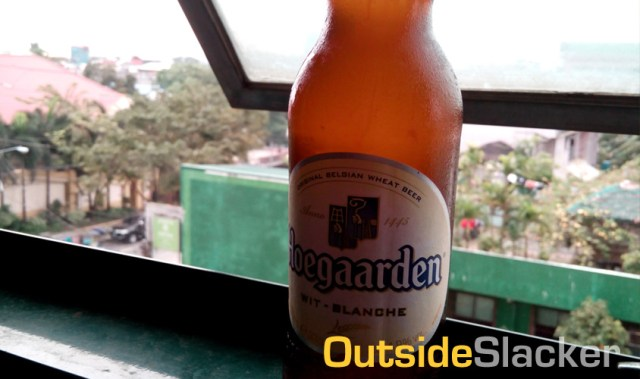 Hoegaarden Beer After a Tiring Workout