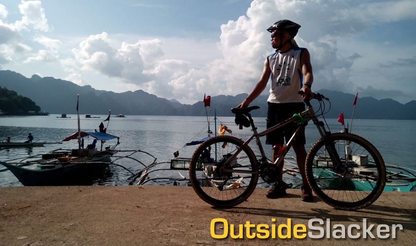 Biking in Coron, Palawan