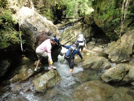 En Route to Kinabuan Falls