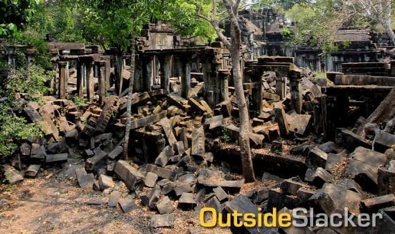 Beng Melea temple ruins