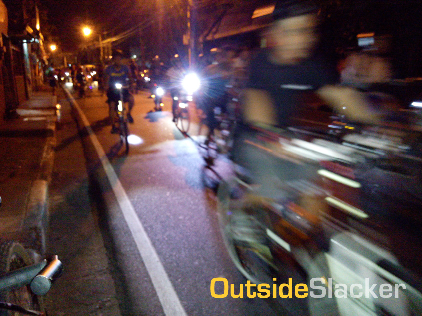 Earth Hour Ride