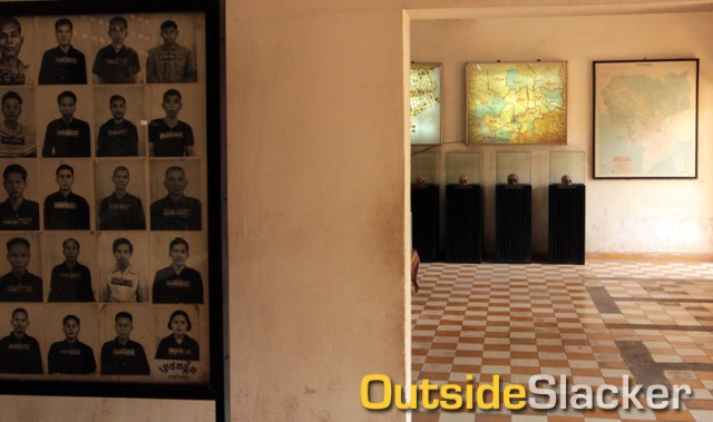 The S21 Genocide Museum in Phnom Penh