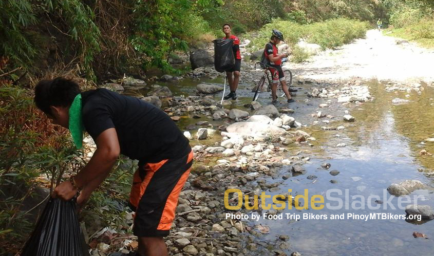 Clean Up Ride to Puray Falls