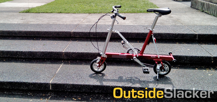 CarryMe Folding Bike