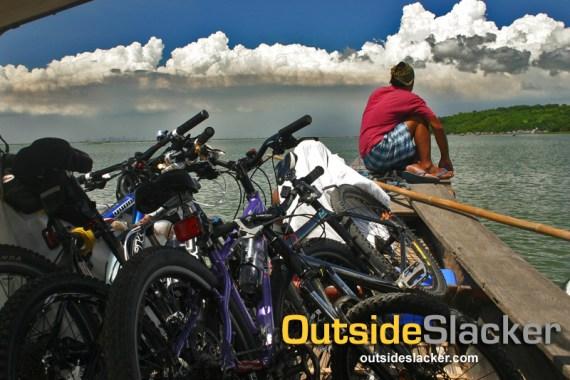 Biking Talim Island
