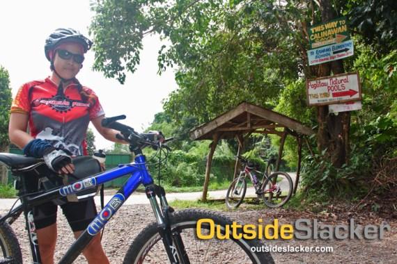 Biking to Calinawan Cave