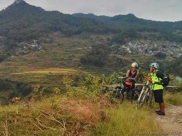 Biking from Sagada to Tirad Pass