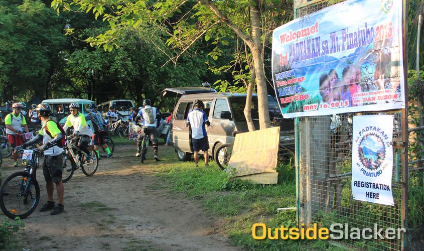 Biking Mt Pinatubo